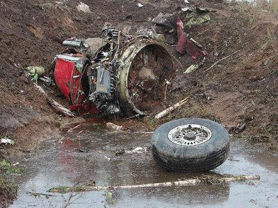 На месте авиакатастрофы во Внуково найдены черные ящики