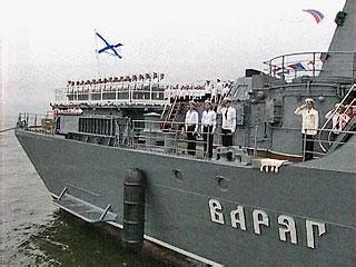 Отряд кораблей Тихоокеанского флота России примет участие в международном параде в честь 60-летия образования военно-морских сил Республики Корея, который пройдет в порту Пусан