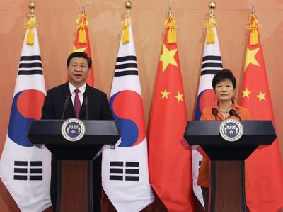 КНР и Корея подписали договор о свободной торговле