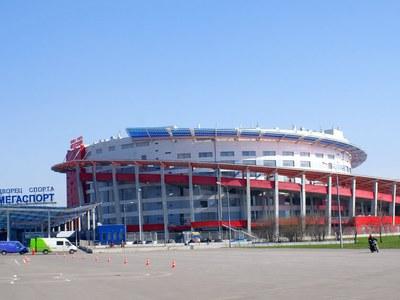 """Арена """"Мегаспорт"""" откроется после реконструкции в 2015 году"""
