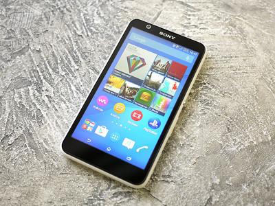 """Обзор смартфона Sony Xperia E4: """"простачок"""" для развлечений"""