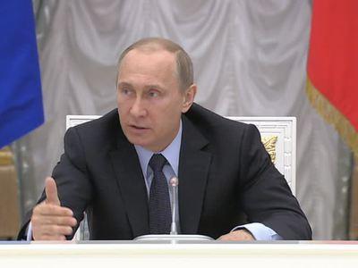 Путин отправил в отставку 21 генерала