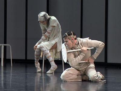 Американская публика стоя аплодирует таланту артистов балета Бориса Эйфмана