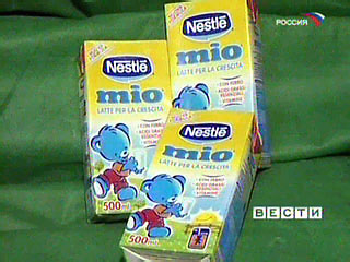 "Nestle замешана в ""меламиновом скандале"""