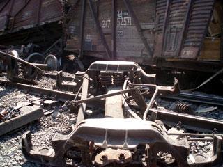 По Киеву катались неуправляемые вагоны