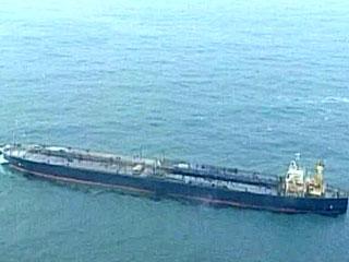 Российский танкер сел на мель у атлантического побережья США