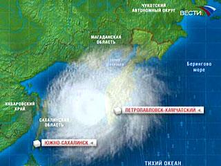 Расчетная сила землетрясения, произошедшего в ночь с 15 на 16 января в районе необитаемого острова Симушир в районе Курил, составила 9 баллов