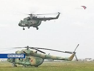 Российские военные сбили два грузинских вертолета