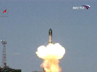 С космодрома Байконур была запущена ракета-носитель РС-20 по программе