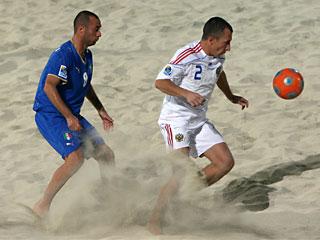 Стартовал Кубок Европы по пляжному футболу!
