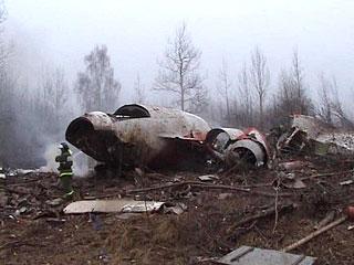 Rozbił się samolot z Prezydentem RP Lechem Kaczyńskim na pokładzie