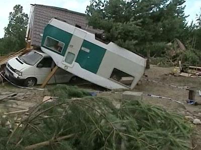 В воскресенье, 15 июля, мощные торнадо прошлись по северу Польши.