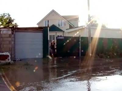 Наводнение в новомихайловском фото