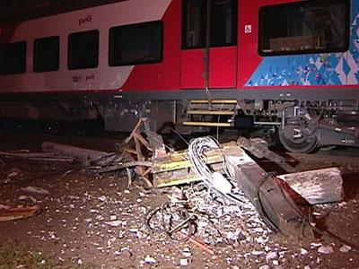 Движение поездов по Горьковскому направлению МЖД полностью остановлено.