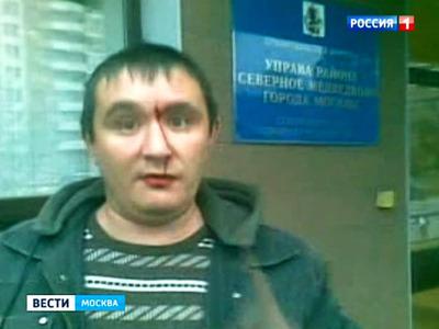 """Журналистов канала """"Россия-1"""" избили в управе Москвы"""