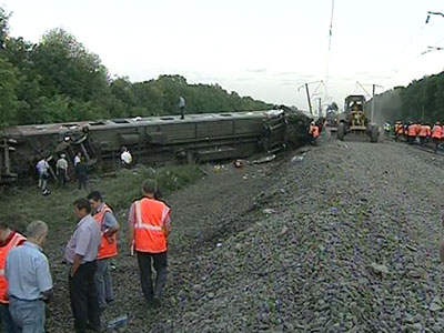 """Состояние 13 госпитализированных пострадавших в крушении пассажирского поезда  """"Новосибирск - Адлер """" стабильное."""