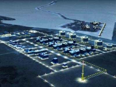 Губернаторы Ямала и Тюменской области проинспектировали порт Сабетта