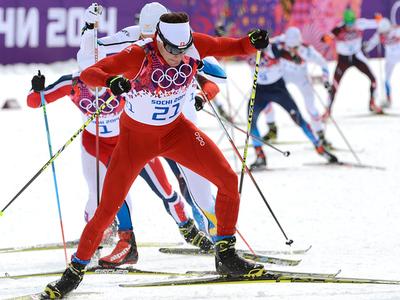 Сочи-2014. Лыжные гонки. Масс-старт. 50 км. Мужчины. Прямая трансляция