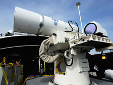 Контртеррористический лазер разработан в Китае