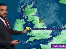 Ведущий прогноза погоды без запинки произнес название деревни из 57 букв. Видео