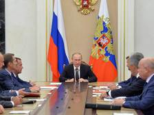 Путин обсудил с членами Совбеза удар США по Сирии