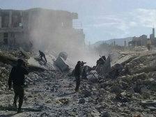 Белый дом снова обвинил власти Сирии в применении химоружия в Хан-Шейхуне