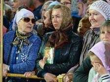 Мощи Николая Чудотворца в Москве встречали тысячи верующих
