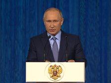 Путин: надо поставить барьер внешнему вмешательству в российскую жизнь