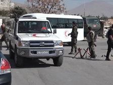 В Восточную Гуту вошел гуманитарный конвой