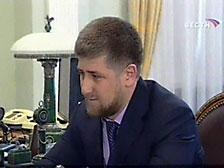 Путин предлагает Кадырова на пост президента Чечни