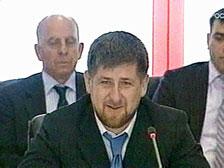 Президент внес кандидатуру Кадырова на рассмотрение в парламент Чечни