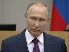 Путин похвалил правительство Медведева за хорошую работу в сложный период