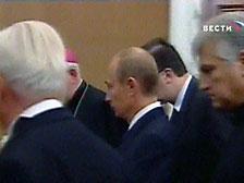 Путин на два дня отправляется в Италию