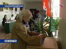 Выборы в Красноярском крае проходят спокойно