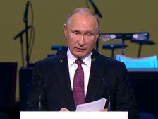Путин: только сплоченное общество может противостоять внешнему давлению