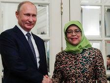 И вода - мёд: Путин начал госвизит в Сингапур