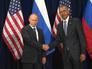 В Париже началась встреча Владимира Путина и Барака Обамы