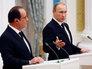 Партнеры пока не готовы: Путин и Олланд подвели итоги переговоров на пресс-конференции