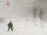 На юге штата Нью-Йорк введен режим ЧС из-за снегопада