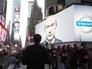 Что это было? Путин подмигнул ньюйоркцам с билборда и исчез