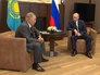Путин поблагодарил Назарбаева за посредничество в примирении с Турцией