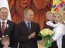 Многодетных родителей наградили орденами в Кремле