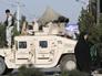 Перед военной колонной в Афганистане взорвался автомобиль