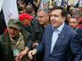 Саакашвили будет жить в палатке у стен Рады