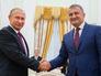 Путин встретился с Хаджимбой и Билибовым и получил орден Уацамонга
